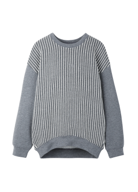 Torso Stripe Point T-Shirt