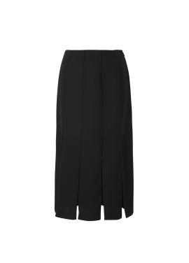 Pleats Midi Skirt