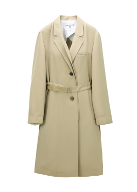Belted Point Trench Coat