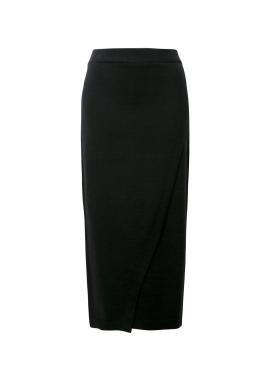 Banding Diagonal Skirt