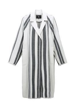 Vertical Line Striped Coat [정유미/김소연/문채원 착용]