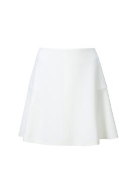 Line Point Flared Skirt