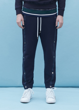 [ATICLE/50%SALE]Snap Decoration Sweat Pants