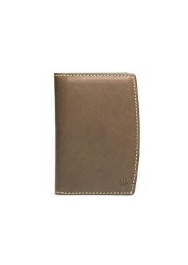 BRIOS Name Card Wallet_Khaki Brown