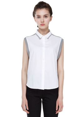 [Millogrem]sway sleeveless shirts