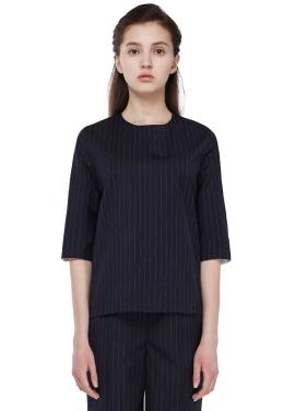 [MILLOGLEM] 고우리착용 stripe pullover
