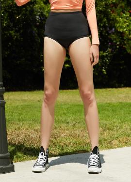 [SURFEA/10%]  Highwaist pants_BLK
