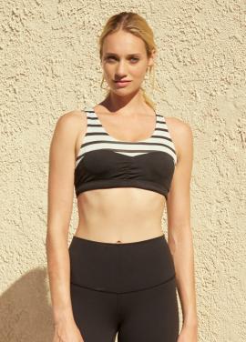 [SURFEA/20%]  Classic Sports bra_BLACK COMBO