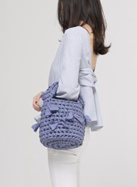[APOCOFANFARE] basket bag basic_3color
