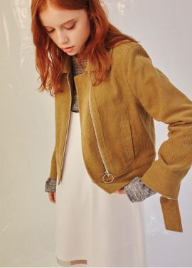 [CLUE DE CLARE/30%]송지은 착용 corduroy jacket