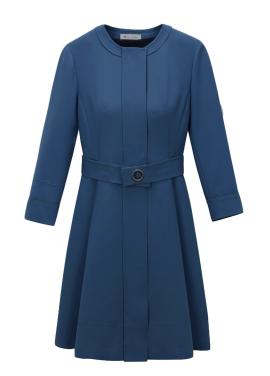 Round Neck Zip-Up Dress [주문 폭주 ˝질투의화신˝ 공효진/수빈착용]