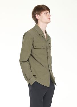 [Millogrem]pajama collar shirts