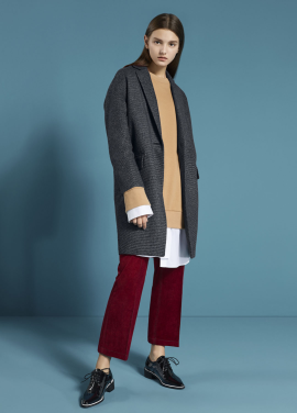 ☆ One Button Basic Coat