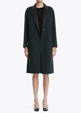 Single Button Basic Coat