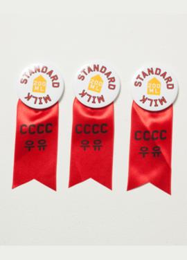 [CY CHOI]CCCC Milk Standard badge