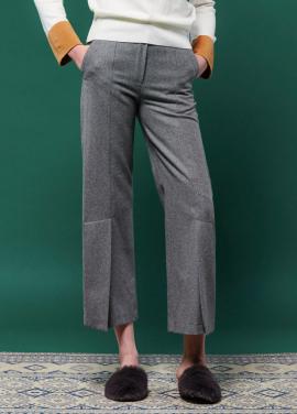 [URAGO]Center tim Wool Pants