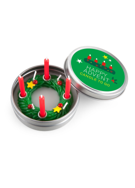 [DONKEY PRODUCTS/10%] Candle To Go - Advent