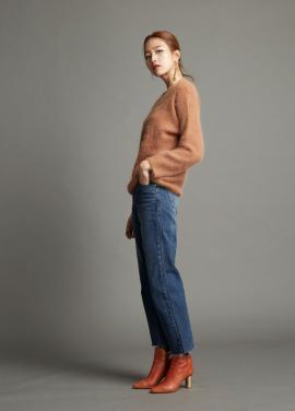 [WORKWEAR] W angora knit top