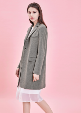 ★Classic Mood Must Have Long Jacket