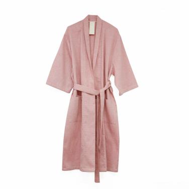 [SAFE SUNDAY/30%SALE] Homewear Robe_Jacquard Pink