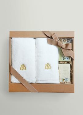 [& MIX] Honeybee Towel & Bar Soap Gift Set