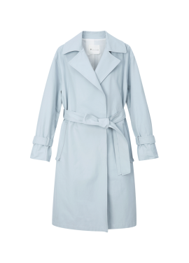 Cotton Blend Patel Color Trench Coat [˝김과장˝ 남상미 착용]