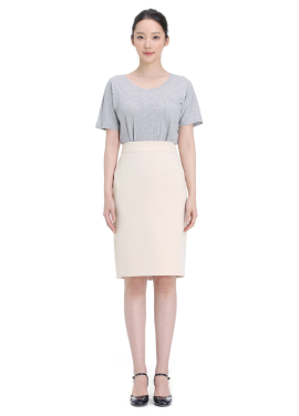 Basic H-Line Suit Skirt <br>[˝김과장˝ 남상미 착용]