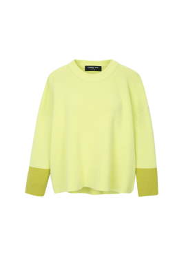 Sleeve Colorblock Pastel Pullover [이선빈 착용]