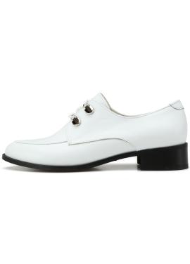 [LORRETTA] OXFORD L615008 White (3cm)