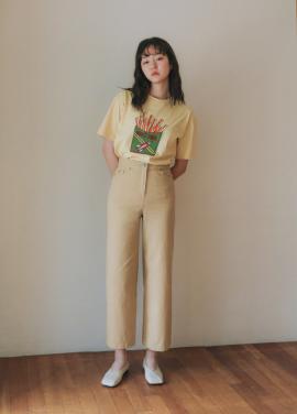 [URAGO] potato t-shirt