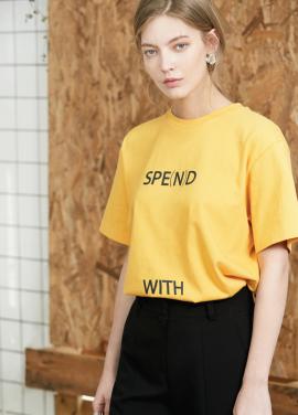 Spend T- shirt Yellow