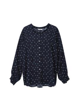◆ Oriental Pattern Blouse