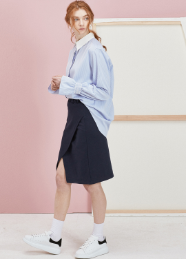 [ANEDIT 봄세일 30%]P LAYERED SKIRTS_NV