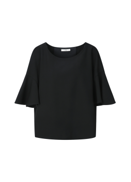 ◆ Back Ribbon Blouse