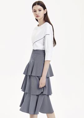 Cancan Midi Skirt
