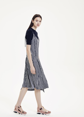 Stripe Layered Dress