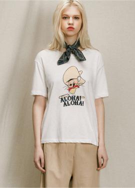 [URAGO]jerry print t-shirt
