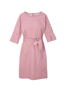 ◆ Pleats Sleeve Dress