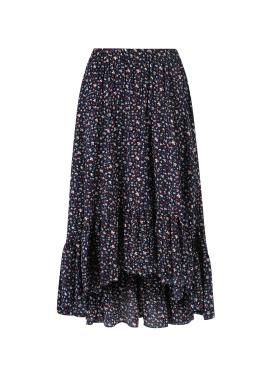 Flower Print Unbalance Skirt [송하윤 착용]
