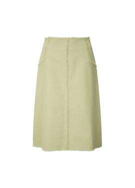 ★ Fringe Long Skirt