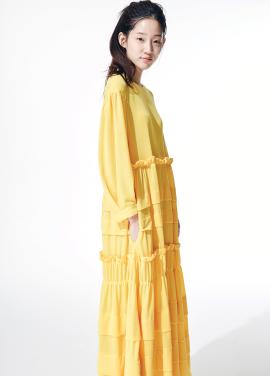 Amelie kang kang yellow dress