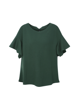 Ruffle Sleeve T-shirts