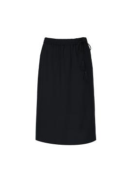 Banding Midi Skirt