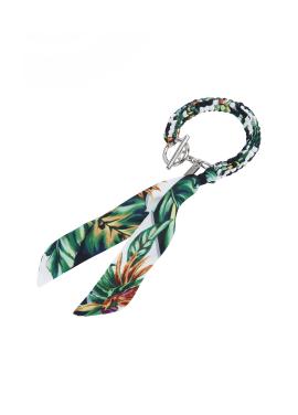Palm Tree Print Bracelet