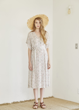 [HOUSE OF RENAE]RESORT17 LILY DRESS (DITSY FLORAL)