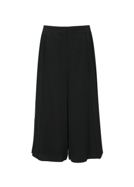 Pleats Detail Wide Pants