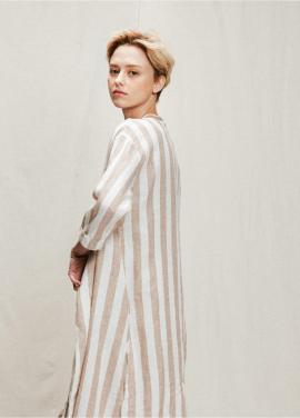 [05/31까지 5%할인+5%쿠폰]stripe robe onepiece
