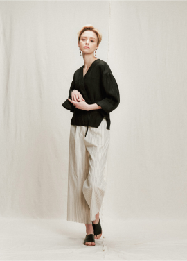 [05/31까지 5%할인+5%쿠폰]linen shot robe cardigan