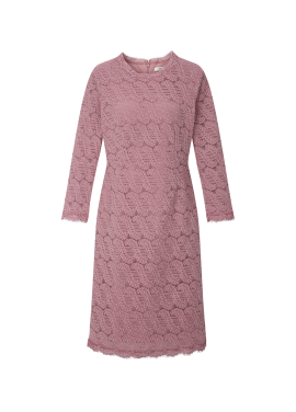 ◆ Lace Taping Slim Dress