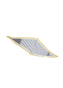 [URAGO]컬러링 라인 스카프